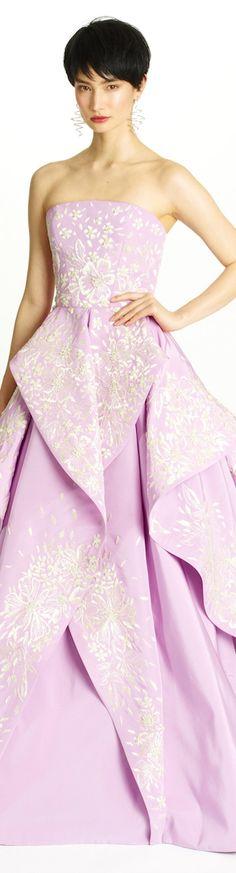 A girl can dream - Oscar De La Renta Pre-Fall 2014  #FashionFridays #LatinoHeritageLA