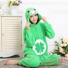 Adult Lucky Bear Onesie Pajamas / Costumes for Women & Men