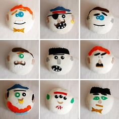 I want to make these for the boys. It's a pillow that you make parts for like a potato head and they stick on.