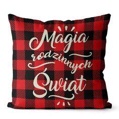 Poszewka Świąteczna Joy Velvet Magia 45x45 cm Merry Christmas, Velvet, Joy, Throw Pillows, Magick, Merry Little Christmas, Toss Pillows, Cushions, Merry Christmas Love