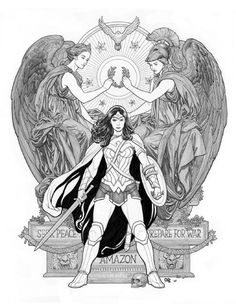 Wonder Woman #4 Variant Cover by Frank Cho