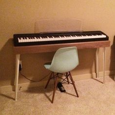 Home - Queensland Property Investor Electric Keyboard, Electric Piano, Baker Furniture, Home Furniture, Piano Room Decor, Piano Table, Piano Desk, Brisbane, Keyboard Piano