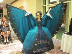Amazing butterfly masquerade gown