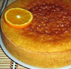 Receitas práticas de culinária: BOLO DE LARANJA ENSOPADO