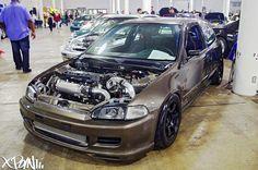 #Honda #Civic #Eg #Stance #Modified #Slammed #JDM