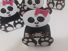 Cute, cute, cute !!!!   Coisa mais fofa que ficou esse kit Panda !!!   Eu particularmente amei !!   A mamãe Andrezza encomendou esse kit p...