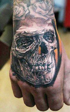 Tattoo Artist - Pavol Krim Tattoo - skull tattoo