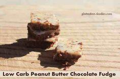 Low Carb Peanut Butter Chocolate Fudge