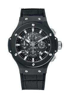 Aero Bang Black Magic 44mm Chronograph watch from Hublot