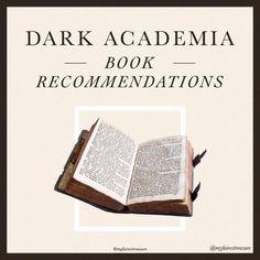 little dark studyblr New Books, Good Books, Books To Read, Reading Lists, Book Lists, Just Start, Fashion Books, Learn To Read, Book Nerd