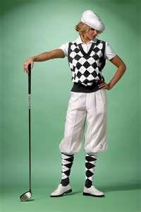 Classic Lady golfer