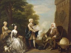 1729 William Hogarth - Woodes Rogers and his Family