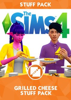Grilled Cheese CC Stuff Pack by grilledcheese-aspiration at SimsWorkshop • Sims 4 Updates