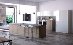 Küche // 97 Kitchen Island, Home Decor, Made To Measure Furniture, Island Kitchen, Interior Design, Home Interior Design, Home Decoration, Decoration Home, Interior Decorating