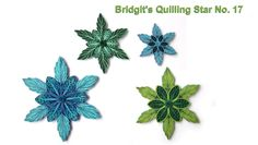 Bridgit's Quilling Star No. 17 (Tutorial) - YouTube