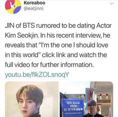 BTS memes Namjin, Bts Memes, Seokjin, Dramas, Interview, Lol, Asian, Funny, Youtube