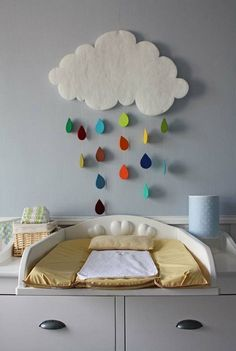 décoration chambre bébé nuage – Hobbies paining body for kids and adult