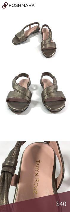 7b6cc5af1e7 Taryn Rose Ion Sandals Leather Quartz Wedge 7.5 Taryn Rose Women s Ion  Sandal 7.5 M Slide
