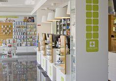 Pharmacy interior by ncmg , via Behance