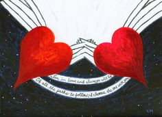 """Love Always"" To see the backstory visit http://www.soulheartart.com/love-always/"