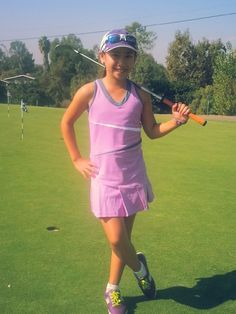 Golf outfit for golf camp
