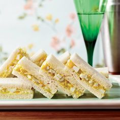 Curried-Egg Tea Sandwiches Recipe - Martha Hall Foose | Food & Wine