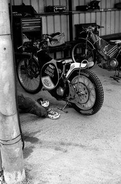 Next to the bike