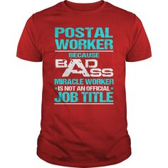 Awesome Tee For Postal Worker T-Shirts, Hoodies. BUY IT NOW ==► https://www.sunfrog.com/LifeStyle/Awesome-Tee-For-Postal-Worker-109029404-Red-Guys.html?id=41382