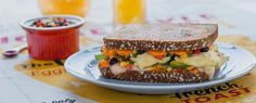 Get #FanwichFit with a Grilled Southwest Sweet Potato and Egg Breakfast Sandwich | Avocados From Mexico