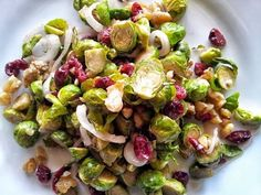 Roasted Red Potato and Brussels Sprout Salad