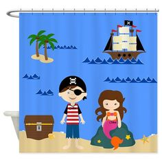 Images about kids bathroom on pinterest shower curtains pirates