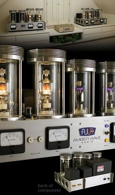 The Amber Wave Audio 304TL. The circuit was custom-designed by Cy Brenneman of Cy Brenneman Audio - one of the most acclaimed tube audio engineers in the United States. Cy helped Amber Wave create an amplifier without peer in reproducing dimensional, fine-grained sound that approaches the subtle nuances of live performance.