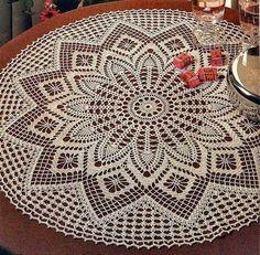 Cantinho da Jana: Gráfico de toalha de mesa ♥️LCD-MRS♥️ with diagram