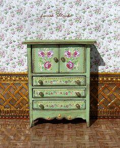 Vintage cupboard. Design Handmade.  For doll от ShtankoLarisa
