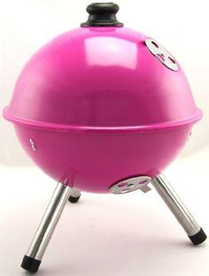 Pink Mini BBQ Grill.