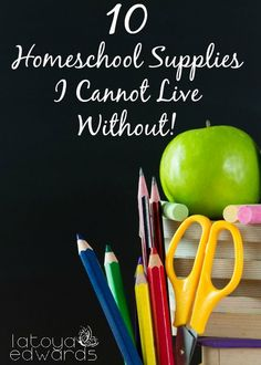 Are you doing some back to school shopping for your homeschool? Not sure what you need? I'm sharing  the 10 things that I consider must haves for my homeschool. Maybe there's something here you can add to your list!