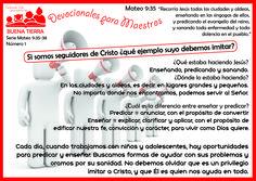 #devocionalesparamaestros ¿Que nos dice la Biblia?