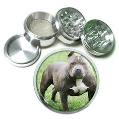 Dog Pit Bull 02 4Pc Aluminum Grinder -- See this great product.