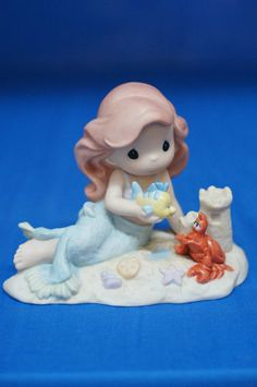 Little Mermaid Ariel Part of Your World Disney 2006 Precious Moments Figurine | eBay
