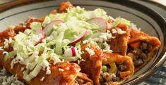 Mexican Dishes, Mexican Food Recipes, Ethnic Recipes, Enchiladas Potosinas, Tamales, Tostadas, Crockpot Recipes, Favorite Recipes, Chicken