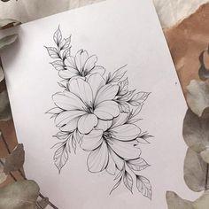 Mini Tattoos, Body Art Tattoos, Small Tattoos, Sleeve Tattoos, Flower Tattoo Drawings, Tattoo Sketches, Flower Tattoo Arm, Tattoo Flowers, Floral Tattoo Design