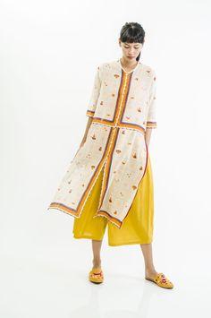 Muslim Fashion, Ethnic Fashion, Asian Fashion, Hijab Fashion, Fashion Dresses, Kaftan Batik, Batik Dress, Dress Batik Kombinasi, Outer Batik