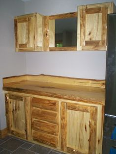 Rustic Kitchen Cabinets Rustic Kitchen Design And Hickory Cabinets