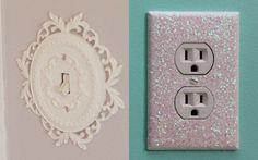 11 ideias incríveis para você customizar o interruptor do seu quarto | Capricho