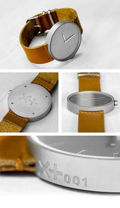 XPLUS RAW and MATTE Watches by Brad Wade — Kickstarter i'm drooling here.