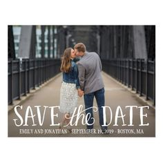 Shop Picture Save The Date Postcard, Horizontal Picture Postcard created by ThePaperedWedding. Personalize it with photos & text or purchase as is! Picture Postcards, Save The Date Postcards, Save The Date Magnets, Save The Date Cards, Photo Wedding Invitations, Save The Date Invitations, Invitation Cards, Invites, Party Invitations