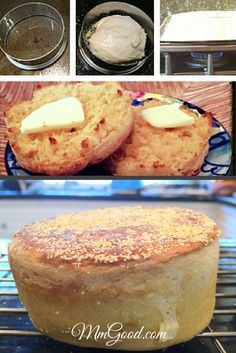 Ever wonder how to make #homemade English Muffins?  I did and so I created this fabulous recipe that is super easy and will leave your guests amazed at how delicious they are.  You can taste the difference from store bought...repin this recipe to your favorite board | MmGood.com