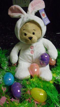 "Baby Ganz Plush Easter Bear Bunny 11"" - NWT!! #Easter"