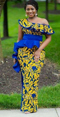 Latest African Fashion Dresses, African Dresses For Women, African Print Fashion, African Attire, African Women, Ankara Fashion, African Lace, African Prints, Africa Fashion