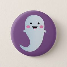 cute halloween button - party gifts gift ideas diy customize